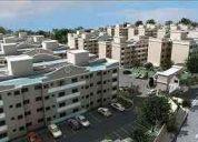 Apartamento imobiliado em Caioba