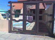 Alugo sobrado com piscina em tramandaÍ - jardim atlÂntico - 3 quadras do mar