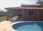 Alugo casa na caponga com piscina