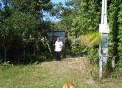Vendo um terreno em ilha comprida, com 3 cômodos em construção.
