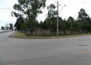terreno 6 mil mts esquina zoo4 guatupe sÃo j dos pinhais r$ 600 mil