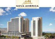 Salas comerciais - nova america offices - del castilho - venda