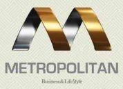 Metropolitan business & life style