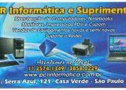 Manuntenção de computadores e notebook e automação comercial