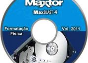 Formatador físico de baixo nivel para hd maxblast 4