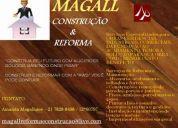 Magall construÇÃo & reforma