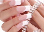 Alongamento de unhas tips