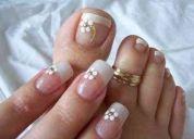 Manicure/pedicure e depilação á domicilio