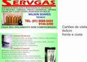 InstalaÇÕes de gas encanado