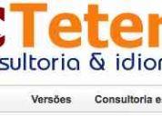 Traduçao ingles, espanhol, 6 idiomas