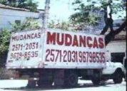 MudanÇas tijuca rj - 2571-2031 / 9679-8535 -ag.marq-transportes