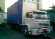 Truck carroceria e toco sider disponivel para transportadoras