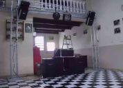 Aluguel de dj  som e iluminação. apenas r$250,00