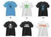 Estamparia de camisas em geral