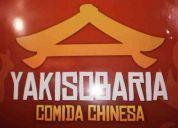Yakisobaria comida chinesa