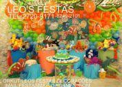 Leo's festas decoraÇÕes / 2720-9171