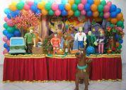 Lilica ripilica, high school, scooby doo - decoração de festa infantil - osasco