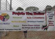 O projeto celebrando a vida no parolin em curitiba-pr precisa de doação