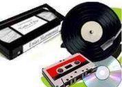 Passo para cd ou dvd fitas vhs, k-7 e discos de vinil