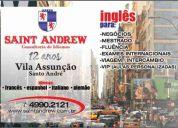 Sant andrew - inglÊs para mestrado,doutorado e concursos