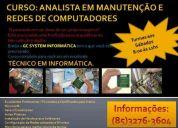 Curso de analista em manutenÇÃo de computadores e redes