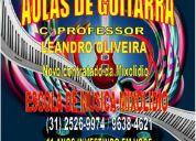 Aulas de guitarra solo