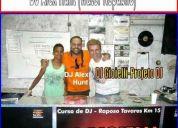 Cursos:djs:presença top no projeto dj-dj gioielli-dj alex hunt (water republic)
