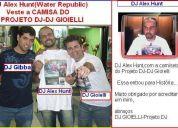 Cursos:djs:dj alex hunt:dj alex hunt veste a camisa do projeto dj-dj gioielli