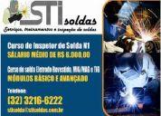 Sti solda serviÇos treinamentos e inspeÇÃo. solda e inspeÇÃo de solda. 32 3216 6222