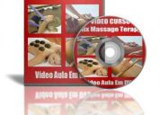 Curso mix massage terapy corporal e facial video aulas em dvd!