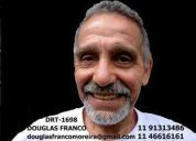 Douglas franco, ator teatro, cinema ,tv , dublador,  animador de festa