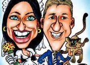 Show de caricaturas para eventos