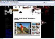 PhotoShop, Vídeo; Web Designer, Desenvolvimento de Projetos, HTML