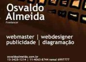 Diagramador , designer e desenvolvedor web