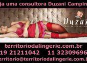 Aumento de renda. lingerie duzani novo catálogo em campinas