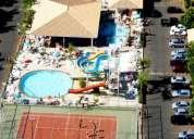 Caldas novas apto com desconto no igresso acqua park e splash di roma resort