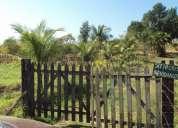 Sítio com  plantações diversas e dois lagos de peixe