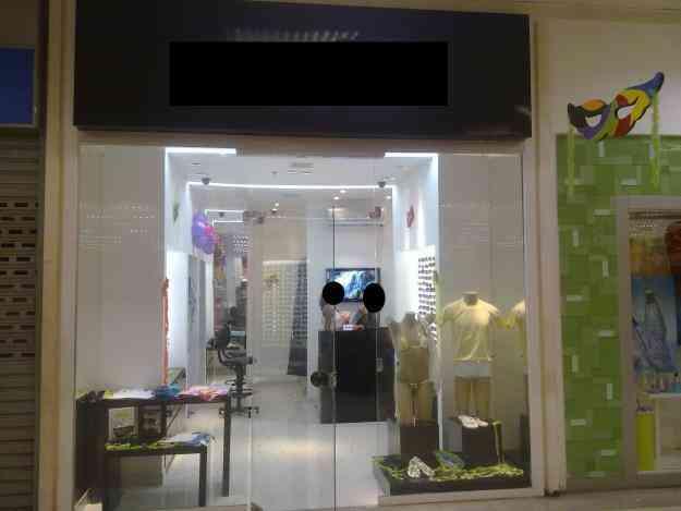 Passo loja montada em Salvador