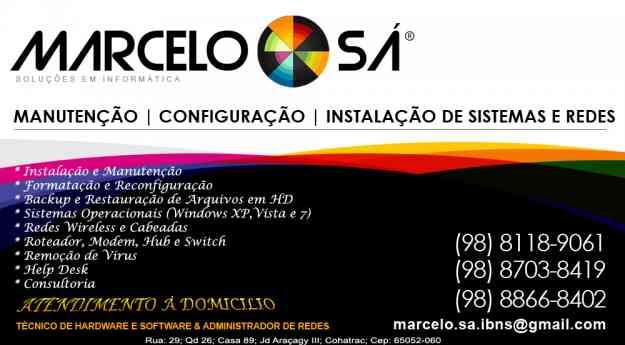 Marcelo Sá - Soluções em Informática