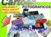 Aproveite a promoÇÃo! cartÕes e panfletos. divulgue e venda mais! interativagraf 6578-5868