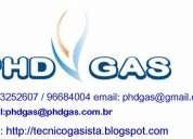 Gasista - manutenção de fogao - aquecedores - tubulacoes a gas