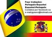 Tradução: espanhol-portugues/portugues espanhol