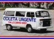 Transportes & carretos tel:(11)7878-5950/ 2317-3529-kombi aberta e fechada