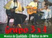 Grupo 3 x 4 - o melhor da mpb - música de qualidade !!