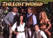 O mundo perdido - the lost world - série completa e dublada