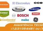 Assistência técnica para lavadoras e refrigeradores em taubaté