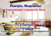 diarista  masculino   (11) 97083-9546