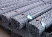 Barra de ferro ca 50 3/8 12 metros, fardo com 2000 kg