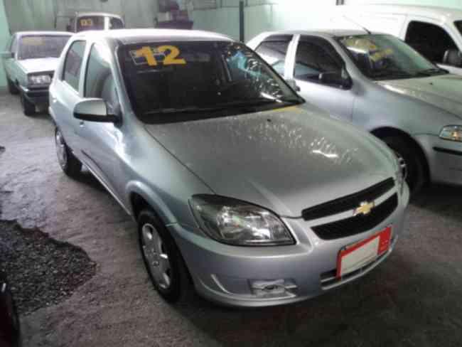 Chevrolet Celta 2012 LS 1.0 VHCe 4 Portas Completo, * Global Veiculos *
