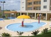 Excelente apartamento de 3 quartos no residencial prive das termas ii em caldas novas